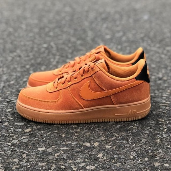 NIKE Nike air force 1 sneakers men AIR FORCE 1 07 LV8 SUEDE brown AQ0117 800